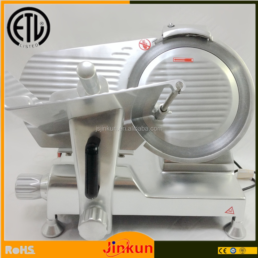 300L good quality aluminum alloy meat slicer/cold cut meat slicer/electric hand meat slicer