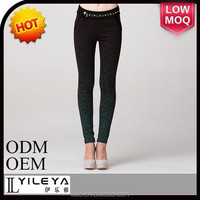 2014 fashion black tight slim casual pants for sexy girls