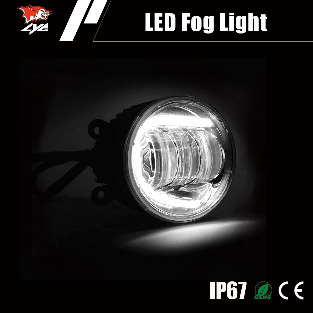 Factory direct DRL Jeep Wrangler front bumper driving lamp fog light led 4