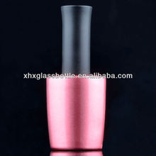 OEM Custom 12ml Pink Color Coating Uv Gel Nail Polish Bottles For Wholesale, Guangzhou Factory Manufacturer
