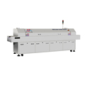 smt pick and place machine reflow oven SMT reflow oven for pcb reflow welding with 8 heater zone ZM-A800