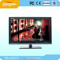Factory Price Customizing Black 22 Inch LCD Monitor PC Monitors