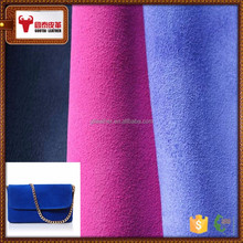Abrasive resistant cow split leather buyer genuine leather for bags