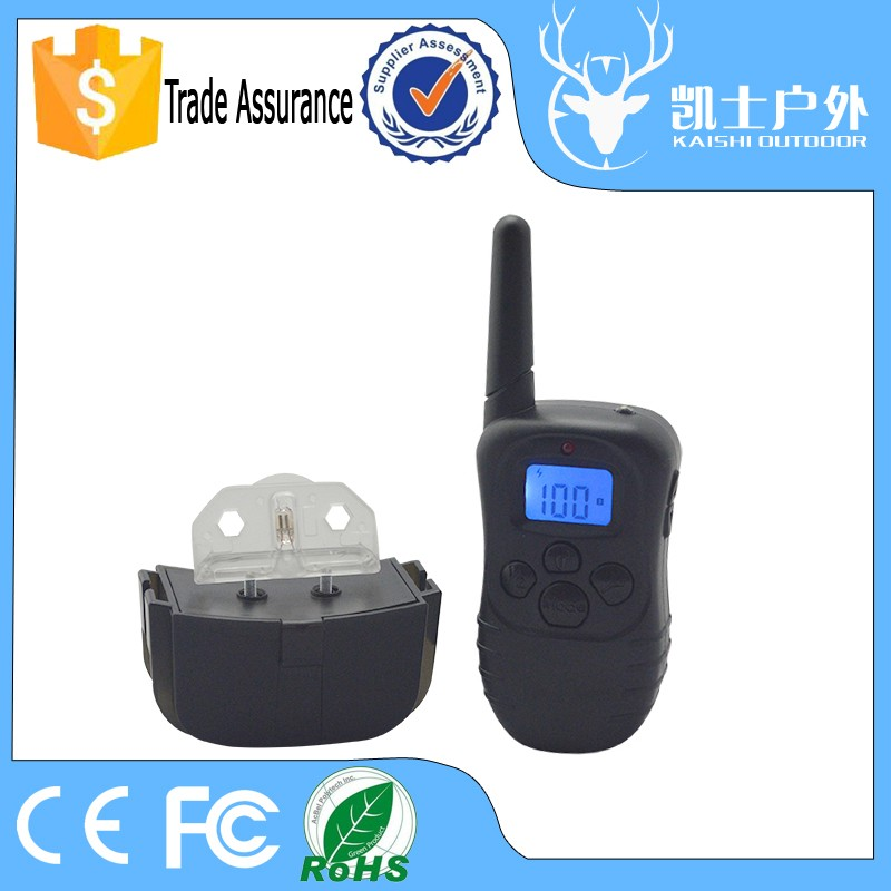 Factory Remote Rechargeable Dog Beeper Training Collar With Shock