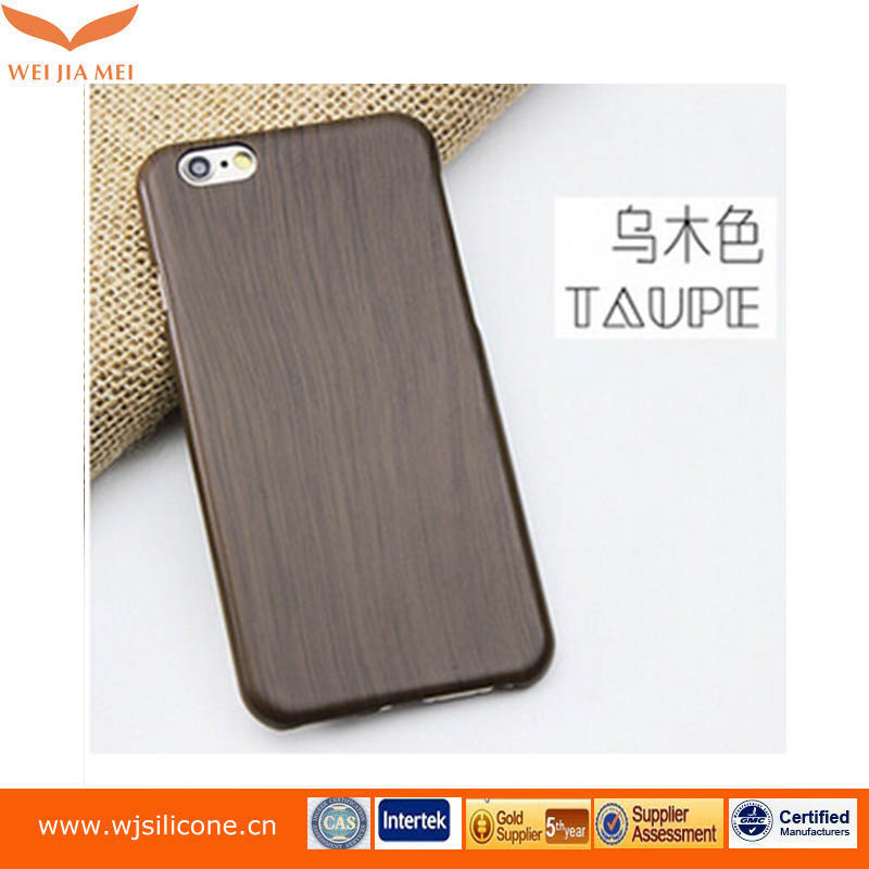 New product Custom wood leather Cell Phone Case For Iphone 6 Wood Case