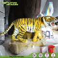 Outdoor Decoration Life Size Animatronic Remote Control Tiger