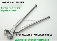 horse nail puller horse nail nipper Farrier Half Round Nipper 12 Inch