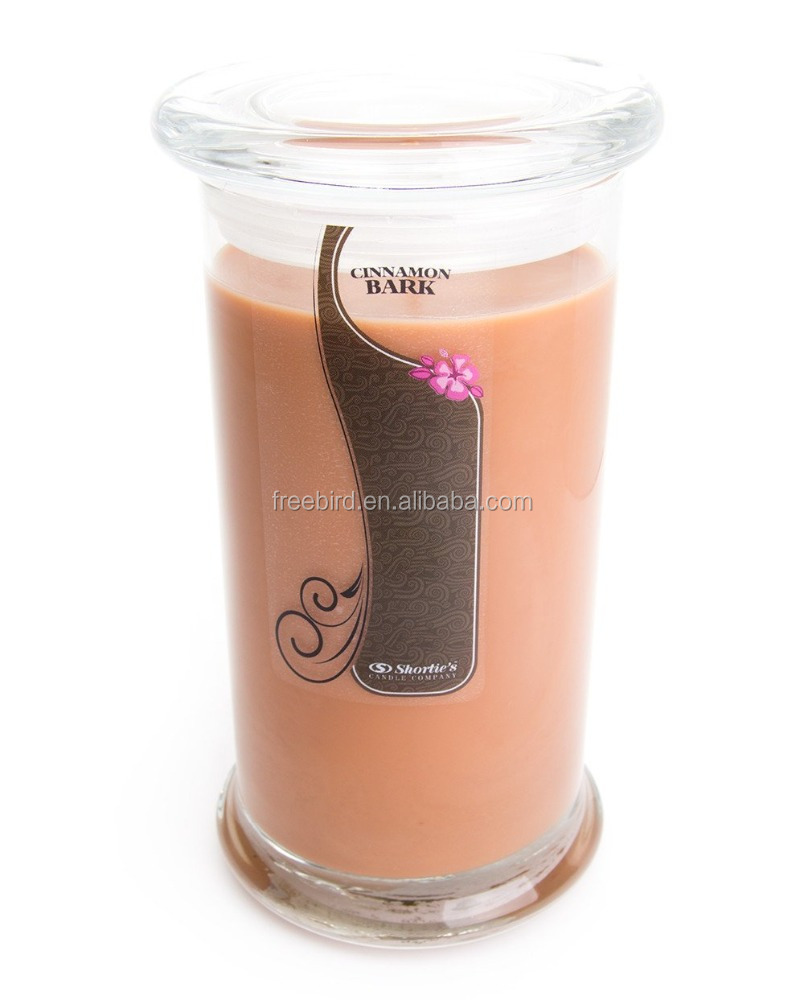 Long Burning Hot Sale Wax Scented Decorative Candle in Jar