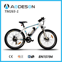 bafang 350w motor TM265-1 sport bicycle made in China import electric bike