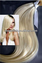 Beautiful and fashionable keratin i tip hair extension