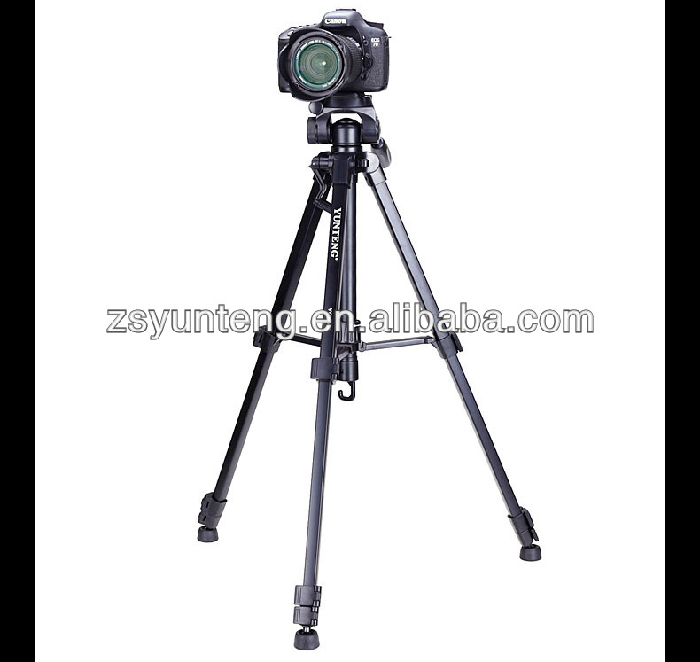 YunTeng 668 Professional tripod for digital camera and video 668