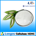 Widely used good disperse high strength values hydroxyethyl methyl cellulose HEMC used for Tile Adhesive