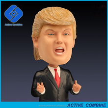 New Wholesale Price High Quality Crafts Gifts Stature Figure Resin Trump And Hillary Clinton For Decoration Gifts