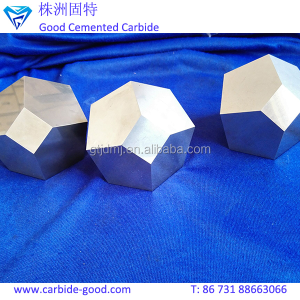 Zhuzhou hardness alloy tungsten carbide anvils for Diamond Cutting