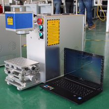 small fiber laser cutting printing machine