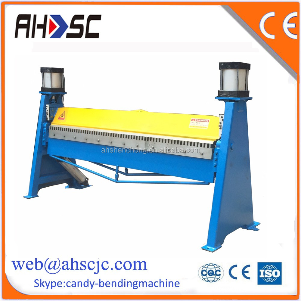 WS-1.2x1500B Adjustable tool according to panel sheet hand folding machine