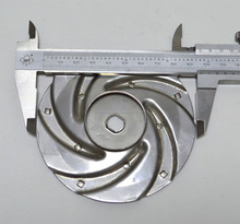 Stainless steel welding open type impellers