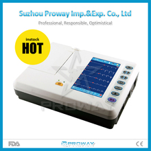 6 Channel Cheap Portable Ecg Machine Price of ECG machine