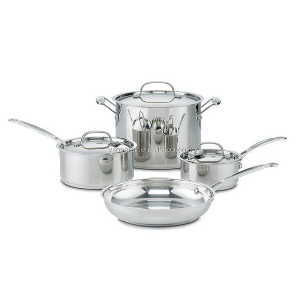 Cookware Chef's pot stainless steel 7-Piece Cookware Sets kitchen pressure cooker with handle