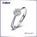 2016 Simple Jewelry Six Heart Design 925 Sterling Silver Rings