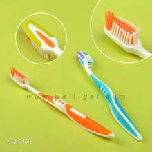 Adult Toothbrush With Tongue Cleaner/simple innovating products/Adult Toothbrush