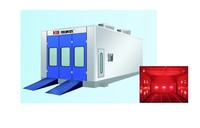 MAXAIR Cool ventilation Spray Paint Booth with Infrared heating lamp optional