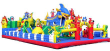 Commercial promotional custom large inflatable animal bouncy castle with PVC