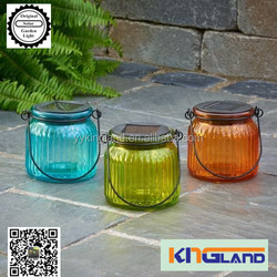 solar ice glass brick light manufacture made in china
