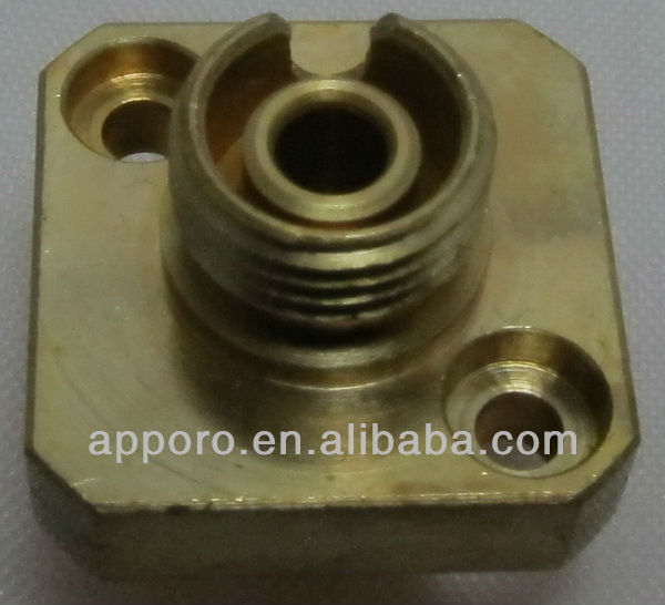 OEM CNC customized coaxial cable connector