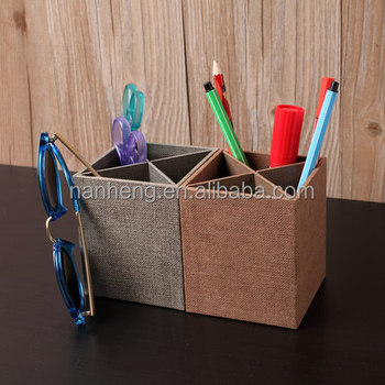 NAHAM elegant promotional office decorative desktop pencil pen holder