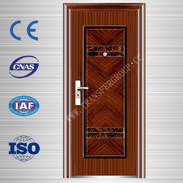 Customize size used metal security doors with various designs