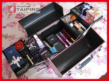 Nail Jewelry Display Cosmetic Case Makeup Case For Sale