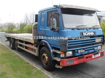 SCANIA 93 220 6X2 Midlift Flatbed Truck