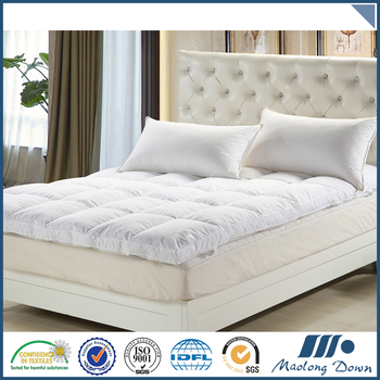 Hot selling cheap custom bed mattress pad,mattress topper