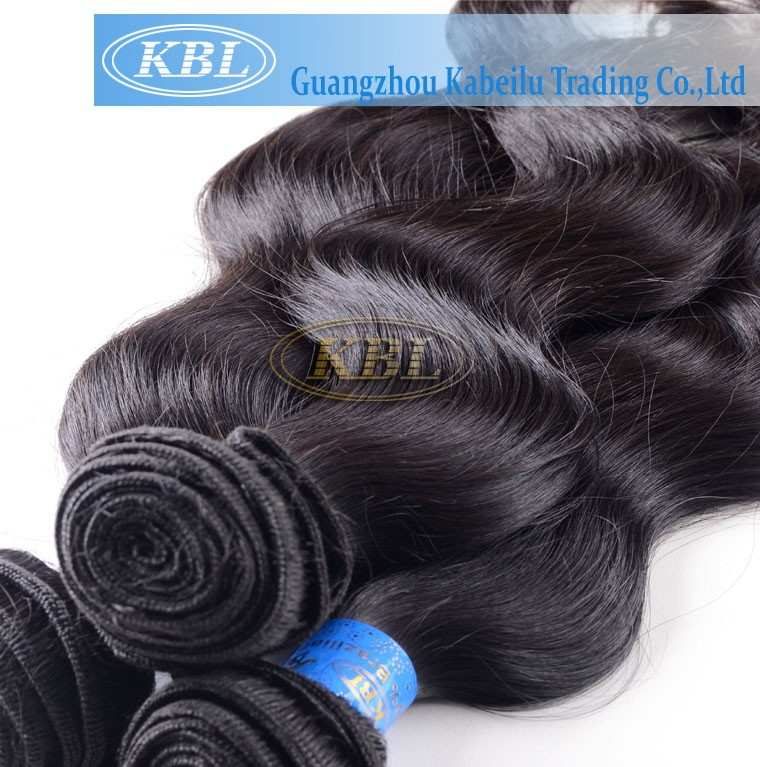 100%Pretty fish wire hair extension,high quality human hair weaving