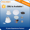 E27/B22 7W LED bulb skd, housing available ,3000K/6000K good quality