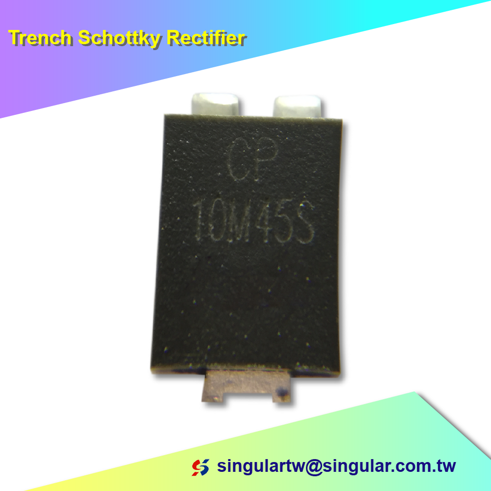 10A CP10M45S Trench Schottky Rectifiers for mobile phone charger