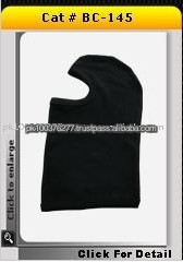 New Design Black 100% Cotton Fabric Motorcycle Balaclava