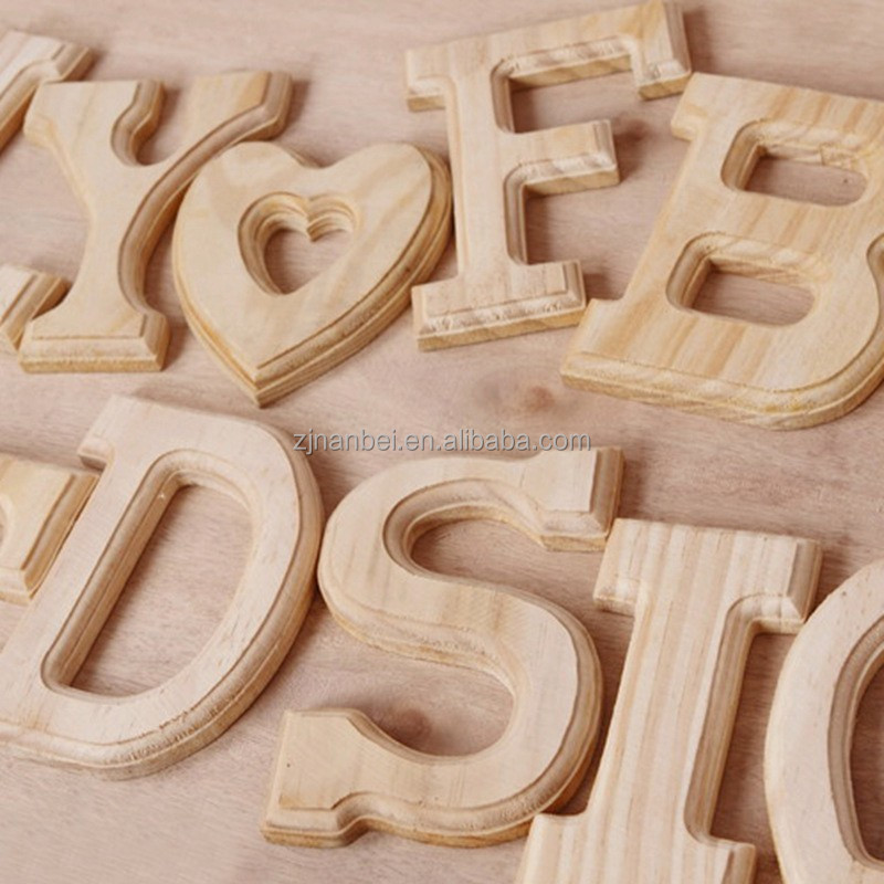 home bar decorative carving wooden lettersfree custom With custom made wooden letters