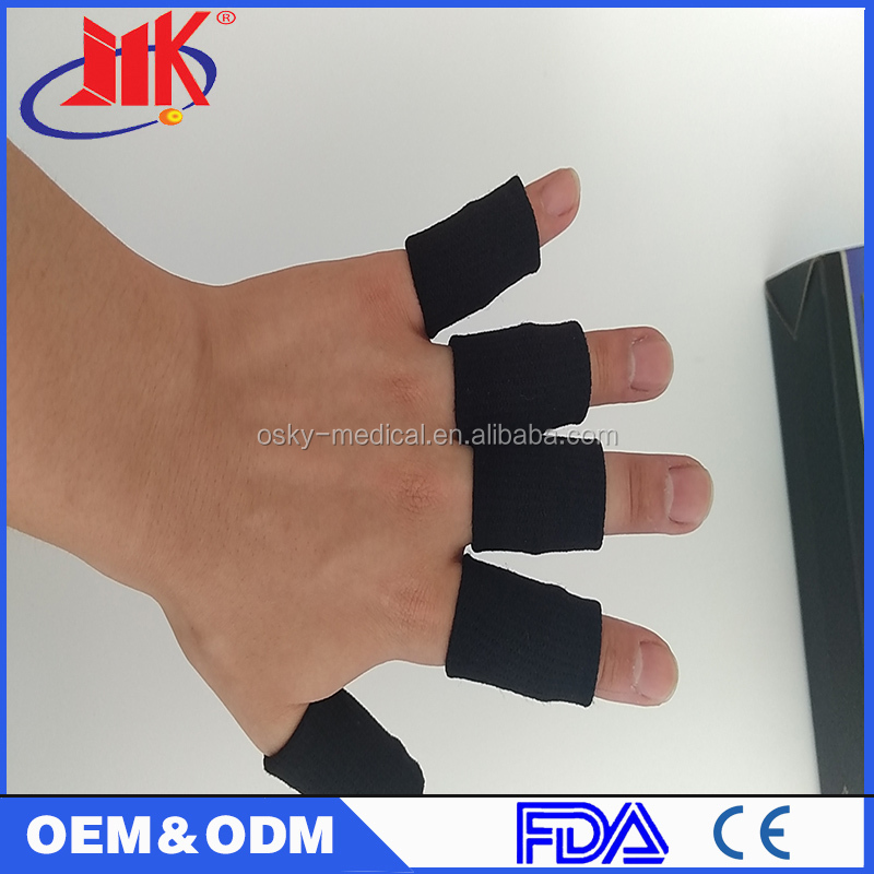 Elasticated finger Support Brace Sleeve Guard