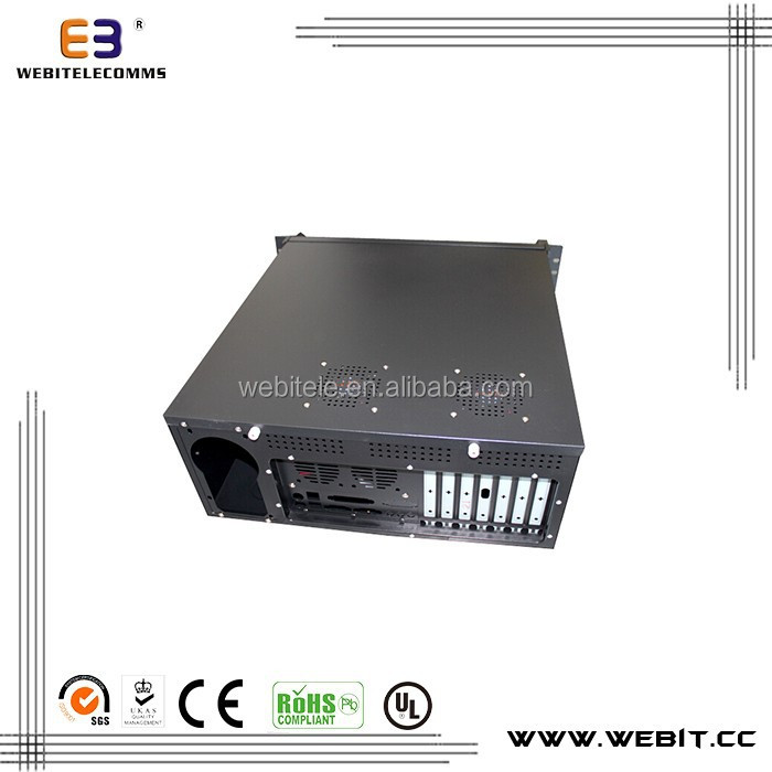 ATX boxes+metal material+0.8mm thickness+network Industrial PC cabinet enclosures ATX boxes