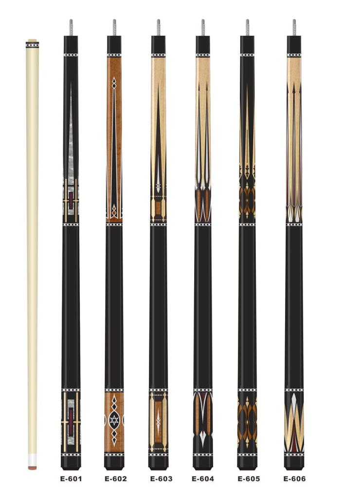 High quality black, brown, red, white cue tip