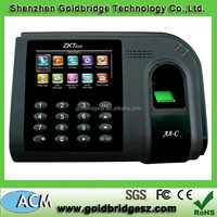 ZK A8-C TCP/IP Standalone Wiegand Fingerprint Time Attendance System with Backup Battery