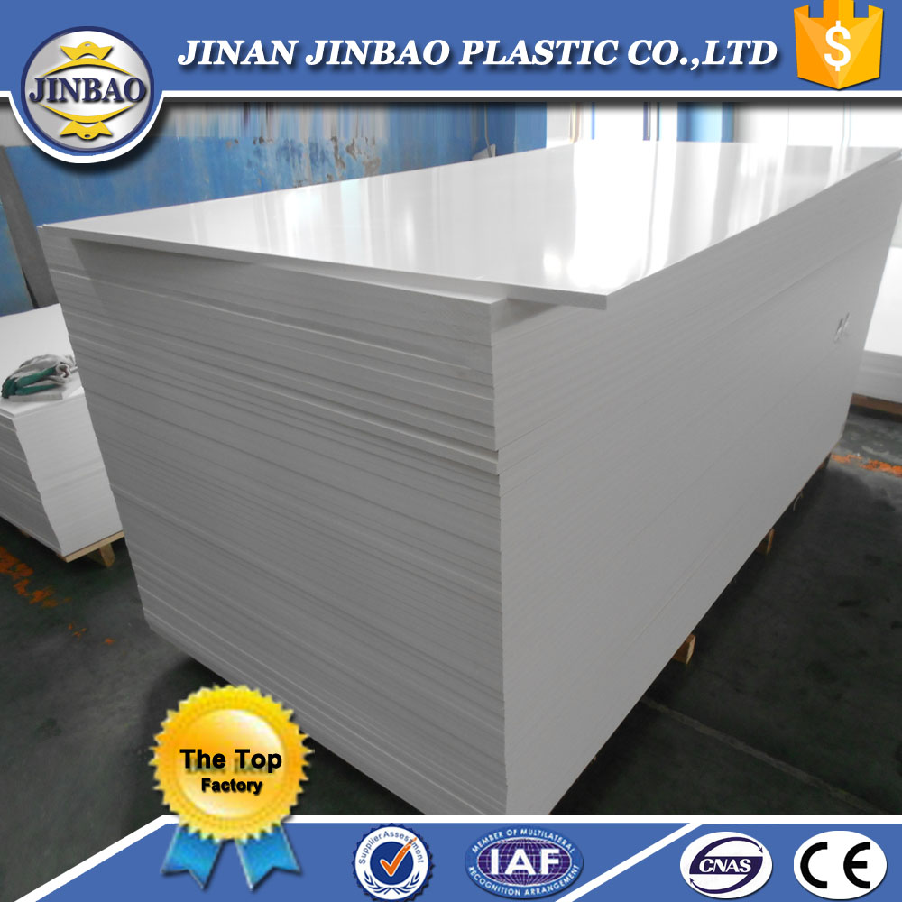 JINBAO 4x8 foam sheets PVC BOARD/sintra foam panel/celuka board
