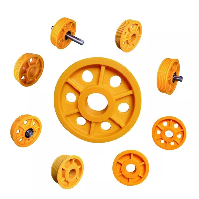 Elevator spare parts elevator traction sheave with customized