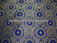 HAND LOOM SATIN BROCADE FABRICS FOR VESTMENTS