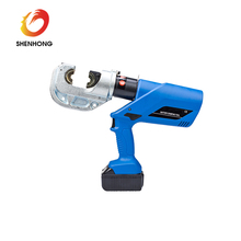Standard power cable mechanical crimping tool for stainless steel tube