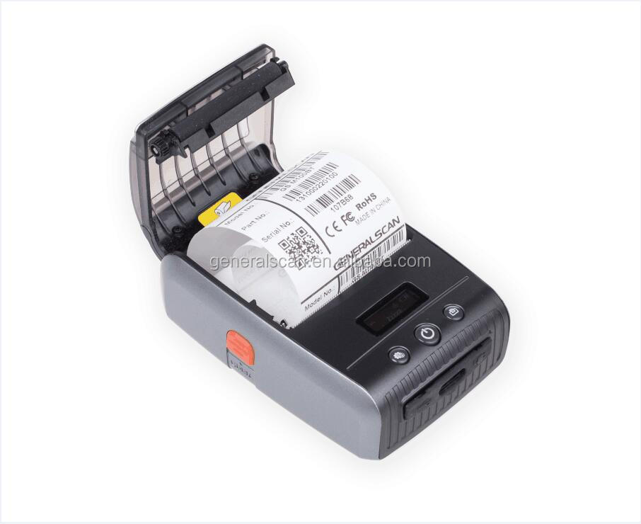 Generalscan GS MP200 Mobile Bluetooth Barcode Printer Mini Wireless Thermal Printer