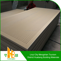 Easy- installing Perforated acoustic Ceiling tiles mold making gypsum board