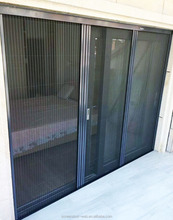 durable screen without bottom rail aluminum profiles 20x20 mesh